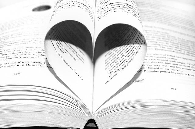 paper in heart shape