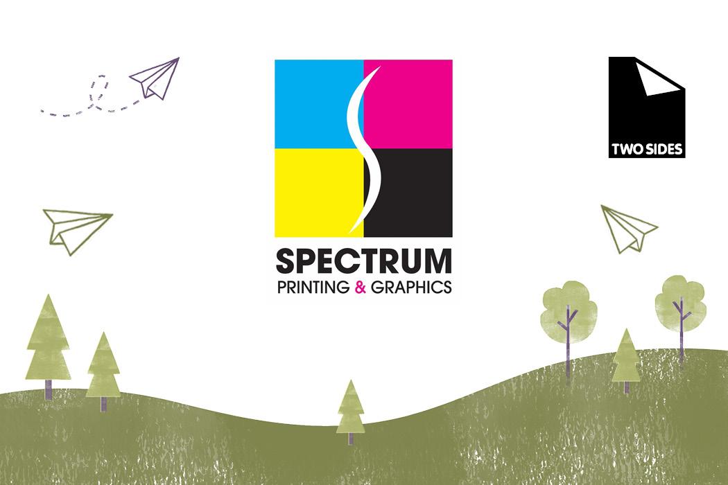 logo for Spectrum Printing