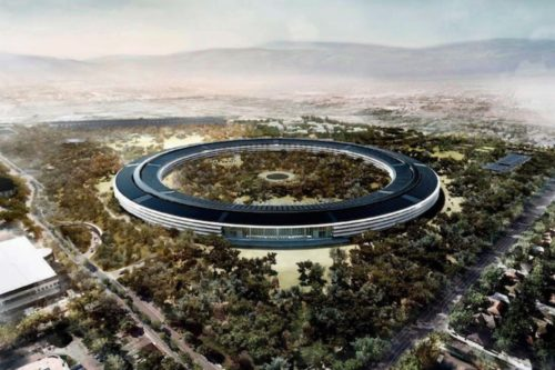 Apple's newest campus includes 9,000 trees!